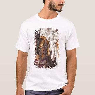T-shirt magasin montrant un assortiment des saucisses et