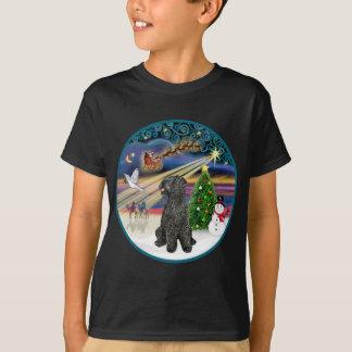 T-shirt Magie de Noël (r) - bleu de Kerry Terrier