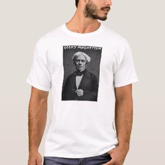 T-shirt Magnétisme Geeky (Michael Faraday)