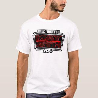 T-shirt Mai le 4ème soit avec vous !