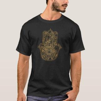 T-shirt Main de HAMSA de conception d'amulette de symbole
