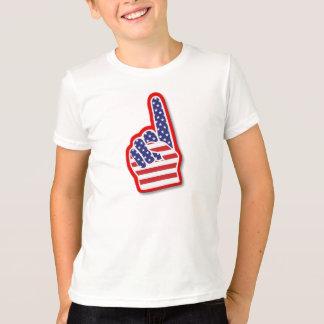 T-shirt Main de mousse des Etats-Unis #1/4 juillet