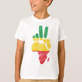 T-shirt main de paix du Darfour Afrique