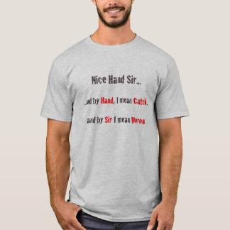 T-shirt Main de poker
