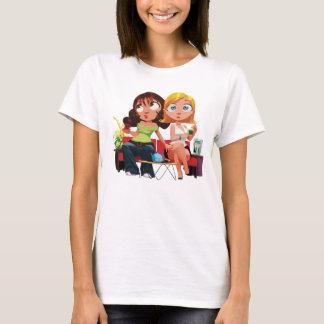 T-shirt Main Idiote