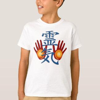 T-shirt Mains de Reiki
