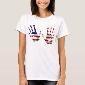 T-shirt Mains des Etats-Unis