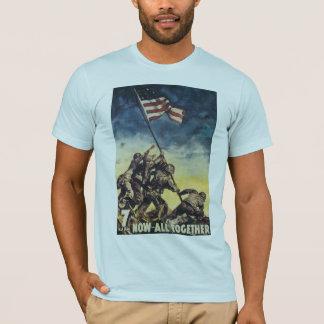 T-shirt Maintenant tous ensemble - Iwo Jima