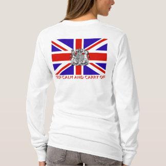 T-shirt 'Maintenez calme et continuez Britain