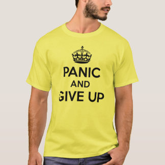 T-shirt Maintenez calme et continuez la parodie