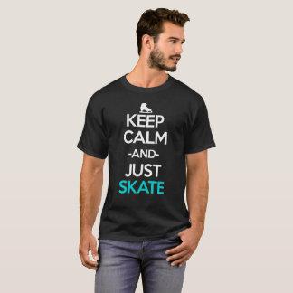 T-shirt Maintenez calme et juste chemise de Manga d'Anime