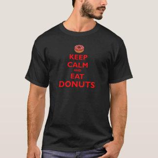 T-shirt Maintenez calme et mangez les butées toriques