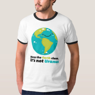 T-shirt Maintenez la terre propre