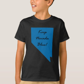 T-shirt Maintenez le Nevada bleu ! Fierté Democratic !
