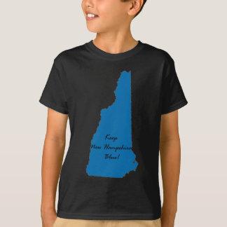 T-shirt Maintenez le New Hampshire bleu ! Fierté