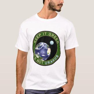 T-shirt Maintenez-le vert