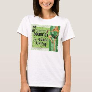 T-shirt Maintenir les DOUBLES d dans le jour du paddy de