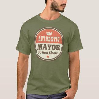 T-shirt Maire authentique cadeau (drôle)
