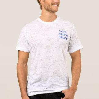 T-shirt MAIRE de BRUCEVILLE - vote Bruce Bruce