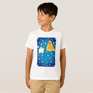 T-shirt Maïs éclaté contre l'original de Nacho