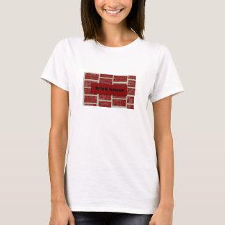 T-shirt maison de brique
