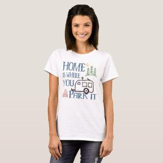 T-shirt Maison de camping de rv