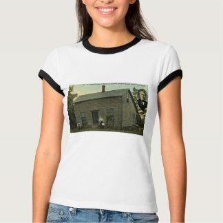 T-shirt Maison d'enfance de Thomas Edison - carte postale