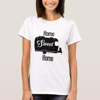 T-shirt Maison douce à la maison - remorque vintage de cru