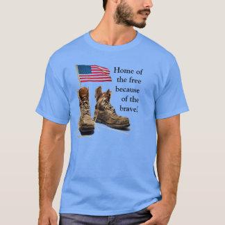 T-shirt Maison du libre en raison du courageux !