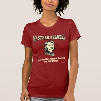 T-shirt Maîtrise : Prévention du monde réel