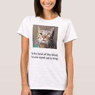T-shirt majestueux de chat
