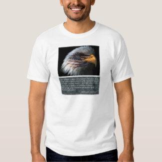 T-shirt majestueux de jour de vétérans de