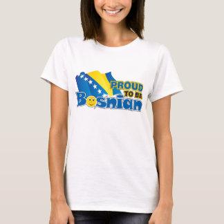 T-shirt Majica fier d'être bosnien