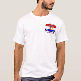T-shirt Majica Hrvatska de Navijacka