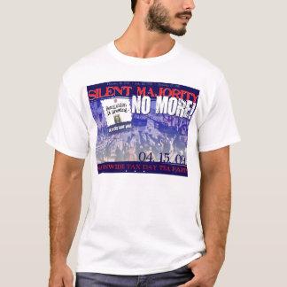 T-shirt Majorité silencieuse PAS PLUS !