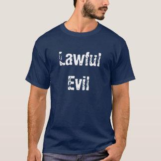 T-shirt Mal légal