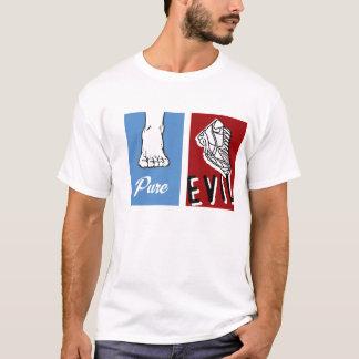 T-shirt Mal pur nu-pieds