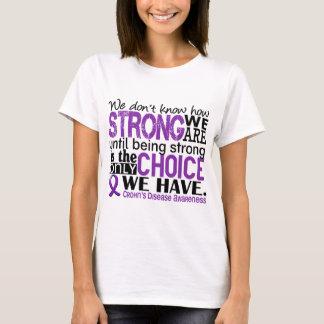 T-shirt Maladie de Crohn comme nous forts sommes