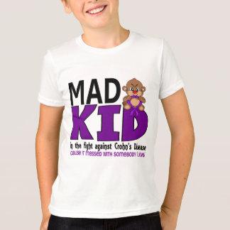 T-shirt Maladie de Crohn folle d'enfant