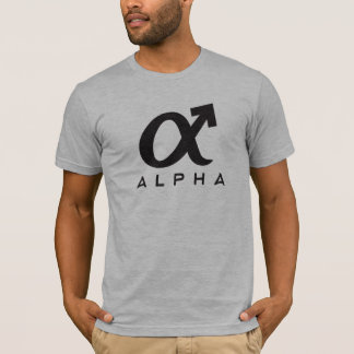T-shirt Mâle alpha