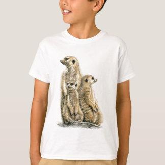 T-shirt Mâle de terre - Meerkats