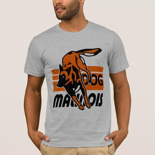 t-shirt malinois de dog malinois