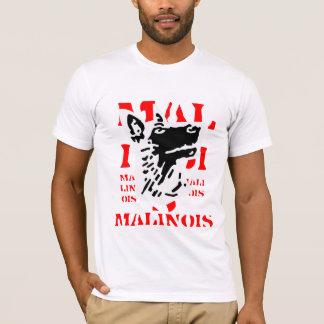 T-shirt malinois malinois
