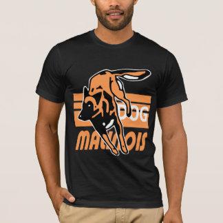 T-shirt malinois saut de haie