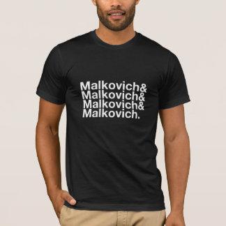 T-shirt Malkovich Malkovich