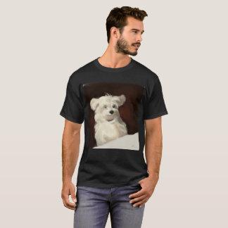 T-shirt maltais heureux