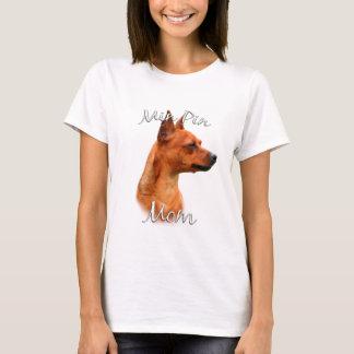 T-shirt Maman 2 de Pinscher miniature (rouille)