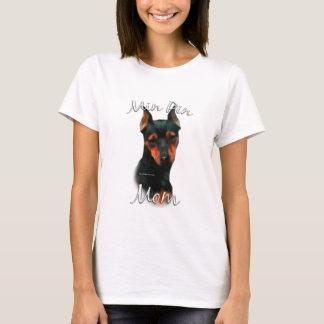 T-shirt Maman 2 du Pinscher miniature (noir)