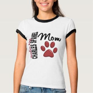 T-shirt Maman cavalière 2 d'épagneul du Roi Charles