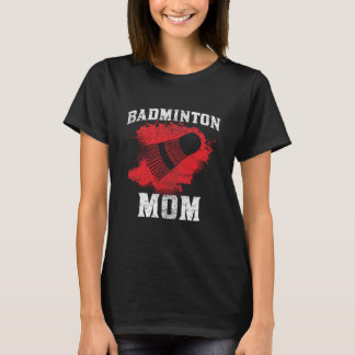 T-shirt Maman de badminton